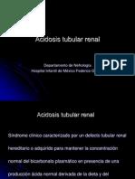 Acidosis Tubular Renal