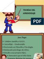 Teoría Psicogenética de Piaget