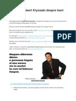 11 Citate Robert Kiyosaki Despre Bani Si Succes