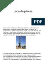 Hinca de Pilotes