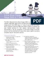 ASG Active Strain Gauge Datasheet