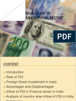 FDI in Finance