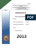Circuitos Electricos-Informe final 4