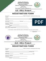 Registration Form CHS