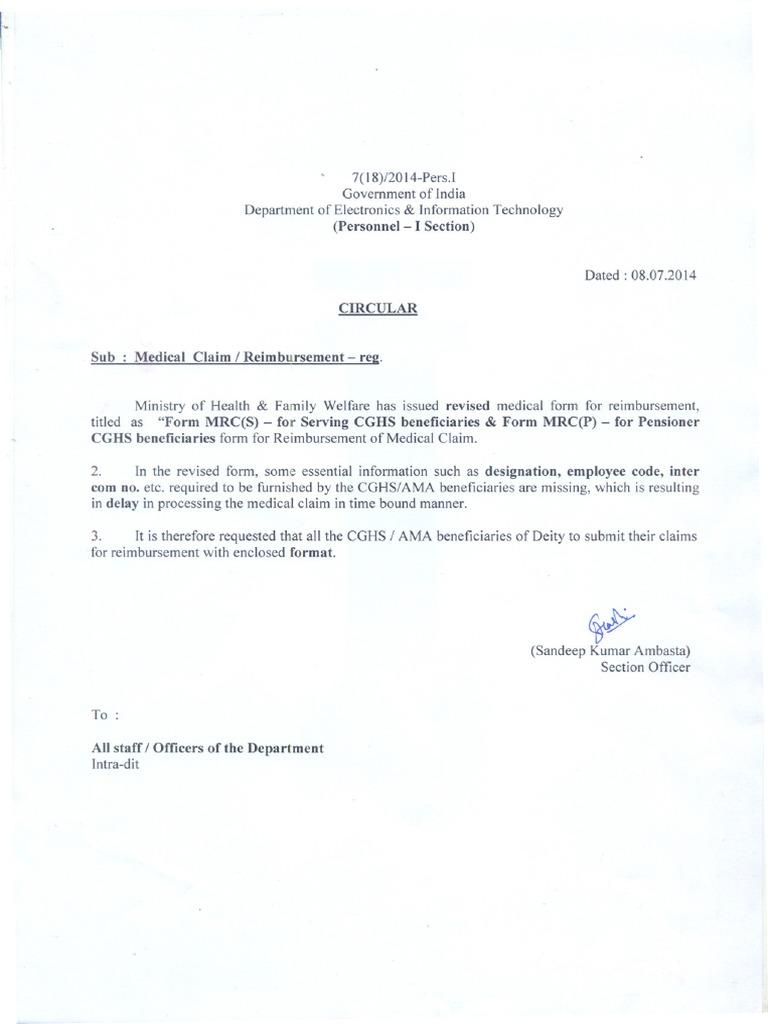 Medical Claim Letter Format from imgv2-2-f.scribdassets.com