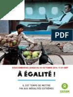 Le rapport d'Oxfam sur les inégalités