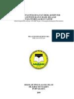 Skripsi - Efektifitas Pemanfaatan Media Komputer pada Pembelajaran Tajwid