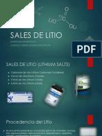 Sales de Litio - Ppt - Fabian Montecinos