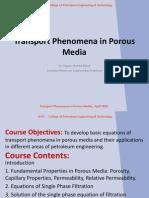 Transport Phenomena in Porous Media-2&3-2