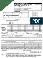 Final Form 2012