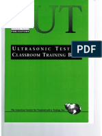 PTP Ultrasonic Testing Level 1