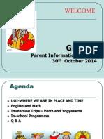 parent info session