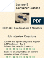05 Arrays and Containers