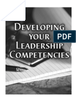 Develop Your Competencies