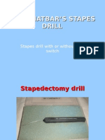 Dr Chhatbar's Stapes Drill
