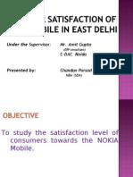 Consumer Behaviour and Customer Satisfaction Towards Nokia Mobile06