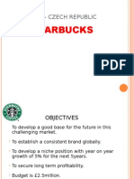 Starbucks in India and Czech