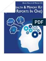 Brain Health Kit-All 4 Reports in 1
