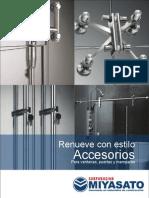 Catalogo Accesorios Ventanas, Puertas y Mamparas
