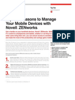 Novell ZENworks - ZMM Top Ten Reasons