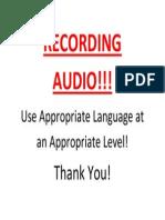 RECORDING AUDIO.docx