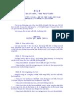 Luật thuế XUẤT NHẬP KHẨU NĂM 2005