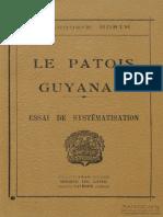 Le Patois Guyanais
