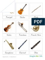 Cards Music Instruments