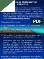 kaldor-hiscks compensation criterio.ppt