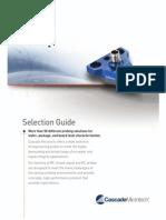 Cascade Microtech - Probe Selection Guide