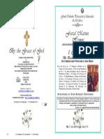 2014 - 1 Nov - St Kosmas & St Damianos