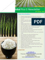 29th October 2014 Daily Global Rice Enewsletter by Riceplus Magazine