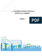 Abordarea Psihologica a Spatiului Urban