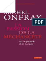 Onfray Michel-la Passion de La Mechancete