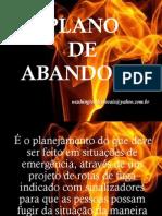 PLANO DE ABANDONO