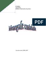 monografie contabila