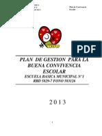 Plan de Convivencia Escolar_2013