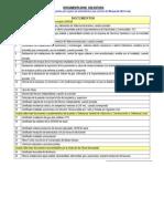 Ñuñoa Documentos Para Recepcion Final