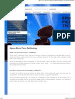 Epson - Micro Piezo