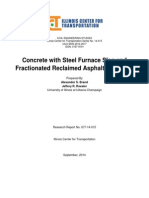 Concrete With Steel Furnace Slag and Fractionated Reclaimed Asphalt Pavement