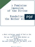 Mother Goddess and Kundalini