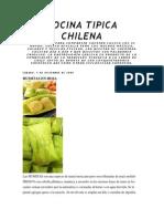 Cocina Tipica Chilena