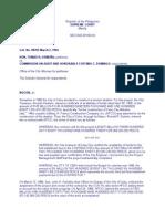 Osmena vs Commissioner on Audit