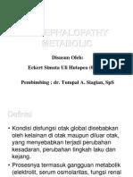Ensefalopati Metabolik - Dr. Tumpal, SpS