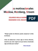 Modelos motivacionales