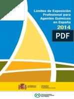 Límites de Exposición Profesional Para Agentes Químicos (2014)