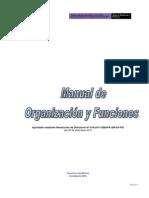 Admi Plan 13771 Manual de Organizacion y Funciones 2012