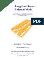 Mental Math Secrets