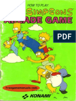 Commodore 64 the Simpsons Arcade Game