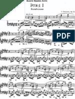 Liapunov Etude for piano no1